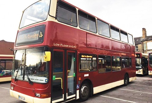 2002 Volvo B7TL Plaxton President 68st. Double Deck Bus