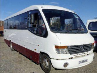 2000 Mercedes 814D Plaxton Cheetah 29str. Midi Coach