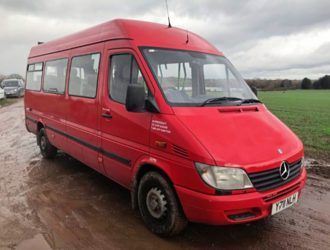2001 MERCEDES-BENZ 311 CD LWB 16 Seater Bus