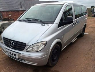 2006 MERCEDES-BENZ VITO Busses with Wheelchair Lifts
