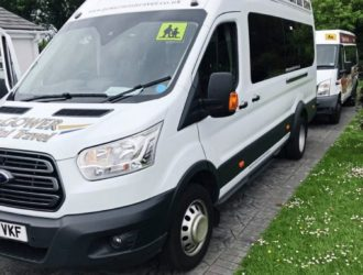 68 plate Ford Transit Trend