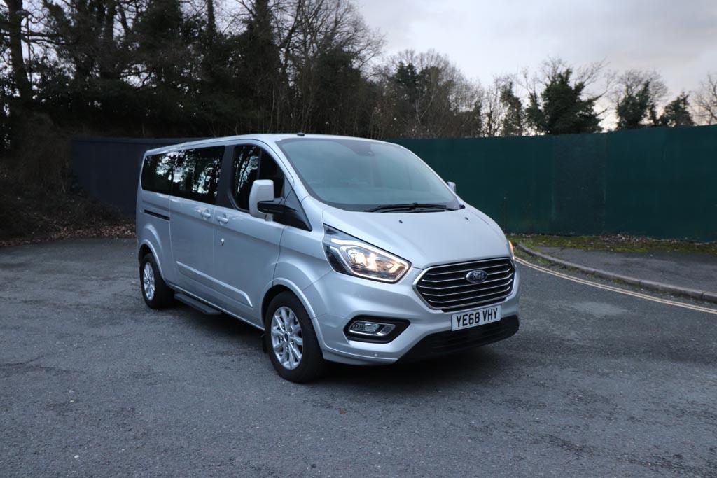 68 Plate Ford Tourneo Custom Titanium 8 Seat - Image 2