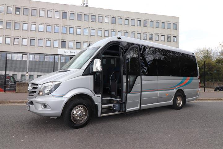 2019 68 Plate Mercedes Sprinter 22 Seat Mini Coach - Image 5
