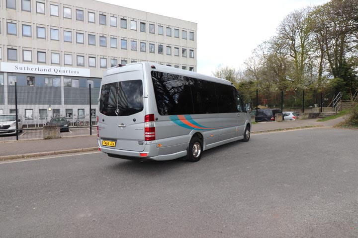 2019 68 Plate Mercedes Sprinter 22 Seat Mini Coach - Image 1