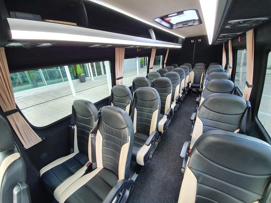 2017 Mercedes Sprinter 22 Seat Mini Coach - Image 4