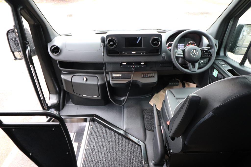 New Mercedes 19 Seat EVM Avantgarde in Grey - Image 9