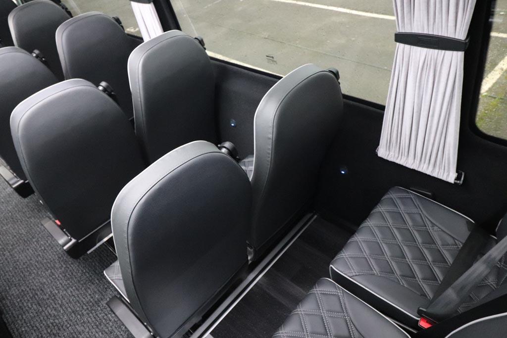 New Mercedes 19 Seat EVM Avantgarde in Grey - Image 8
