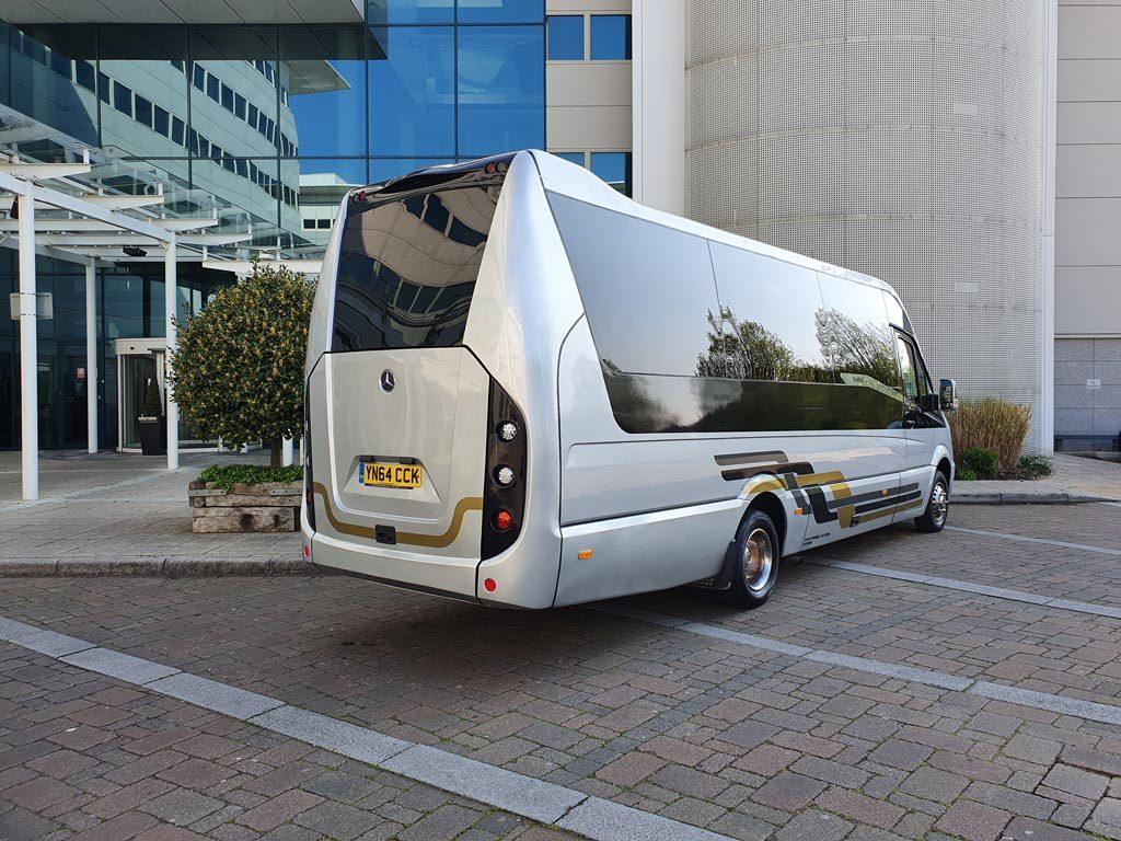 2014 64 Plate – Turas 500 16+G Mini Coach - Image 1