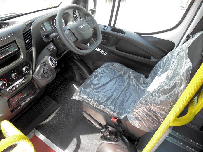 2021 Iveco cab
