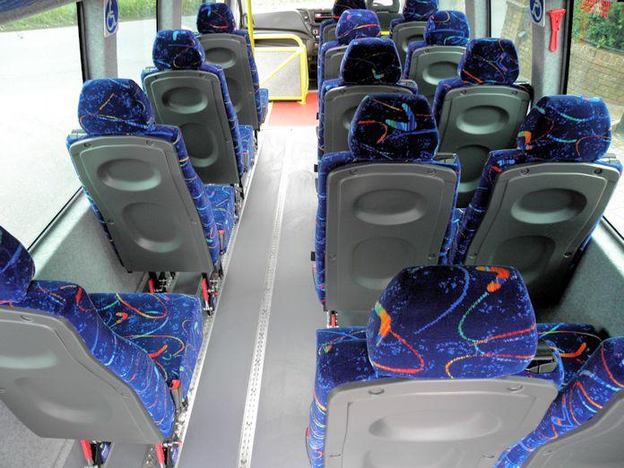 2021 Iveco seat rear
