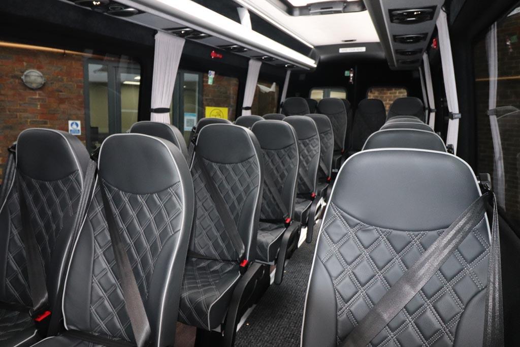 New Mercedes Sprinter 22 Seat Mini Coach - Image 1