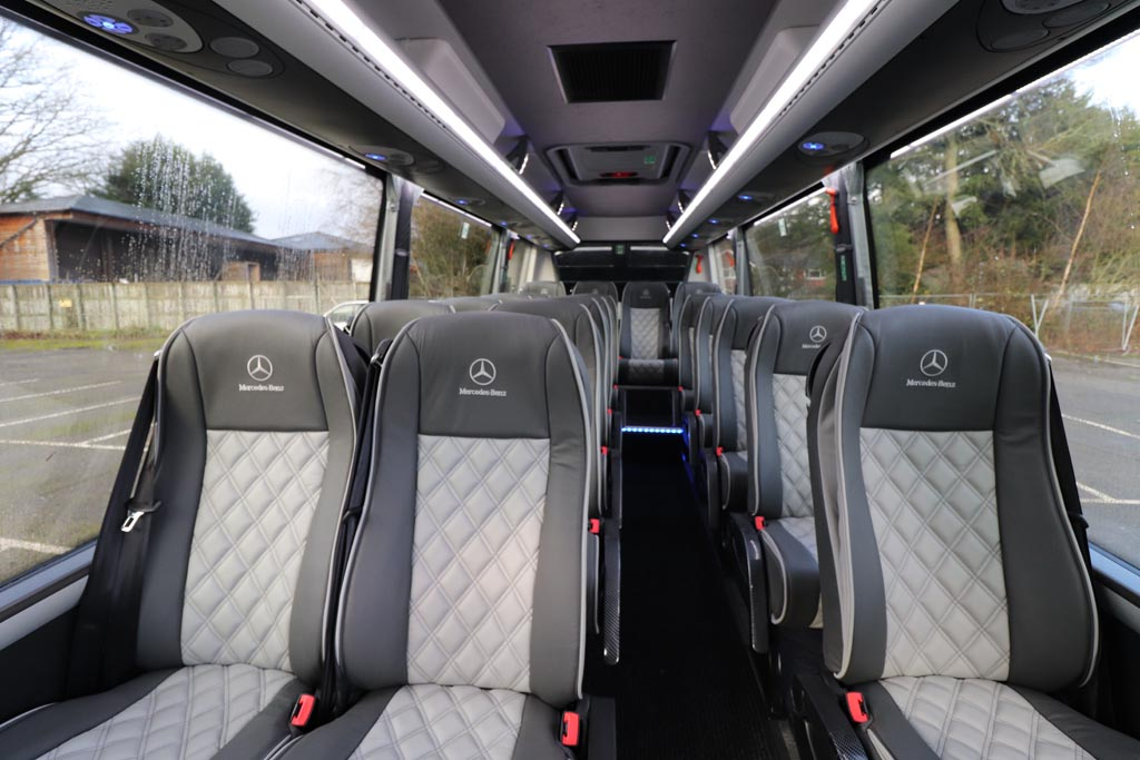 New Mercedes Sprinter 20 Seat Grand Tourer - Image 4