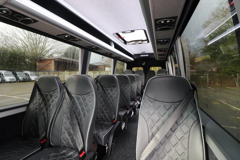 New Mercedes 22 Seat Avantgarde Silver - Image 5
