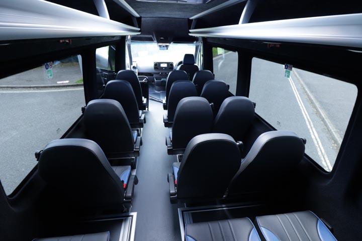 New Mercedes Sprinter 516 19 seat elegance - Image 6