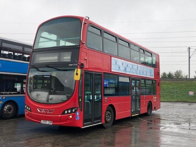 2009 59 plate Volvo B9TL