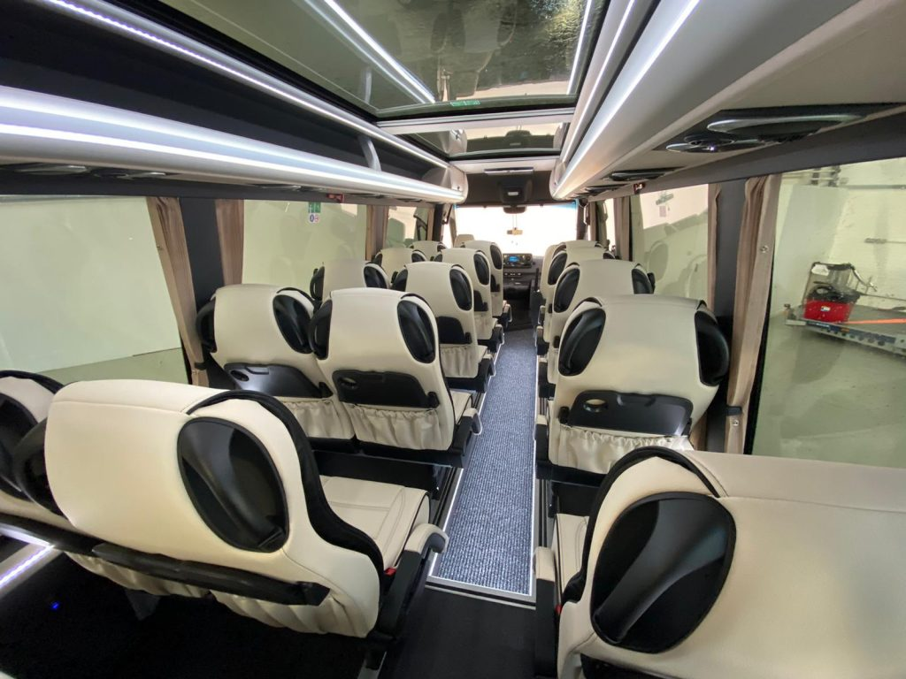 NEW LEFT HAND DRIVE X-Clusive 19+G Seat Mini Coach - Image 3