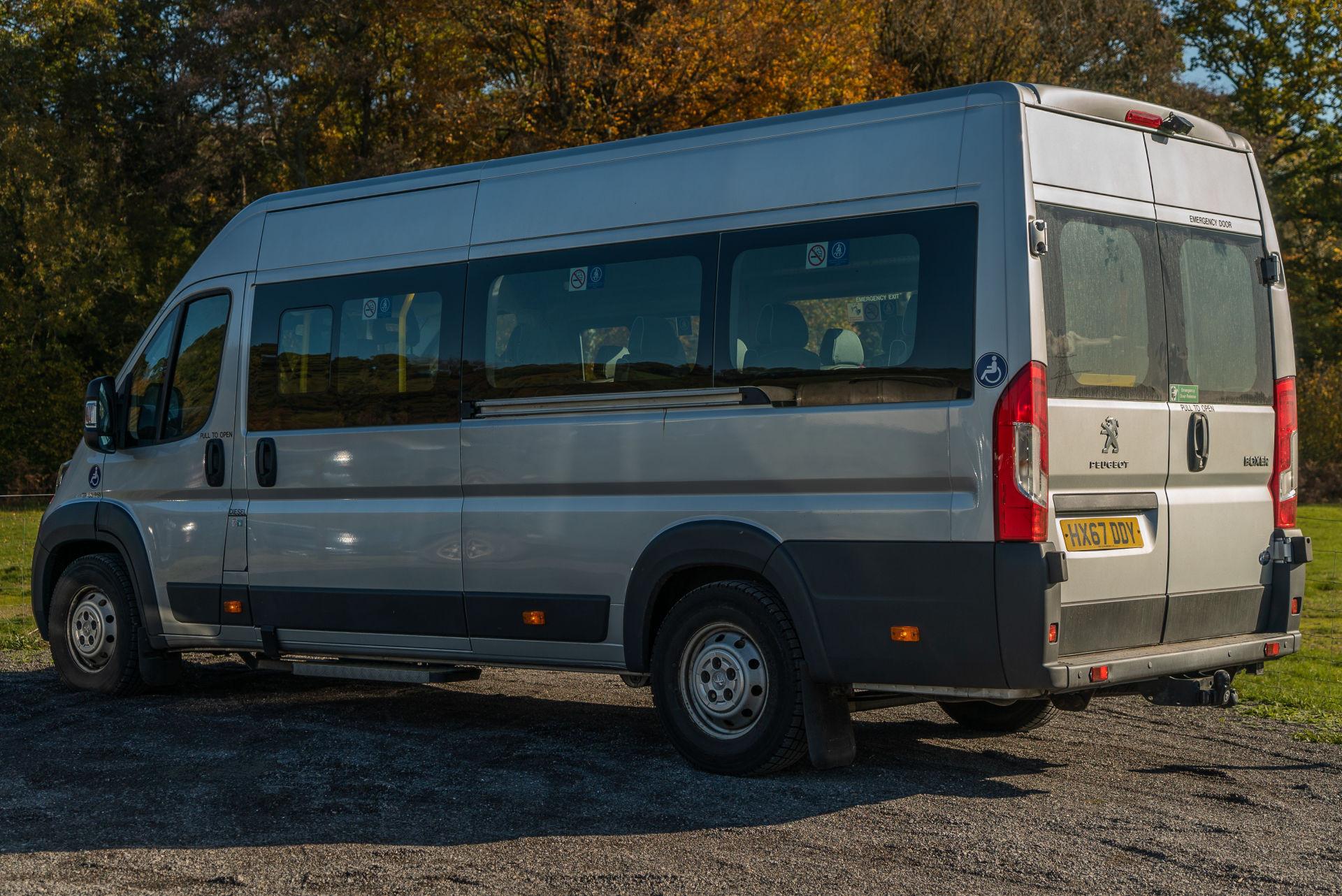 Peugeot Boxer 17 Seater Accessible Minibus for Sale - Image 3