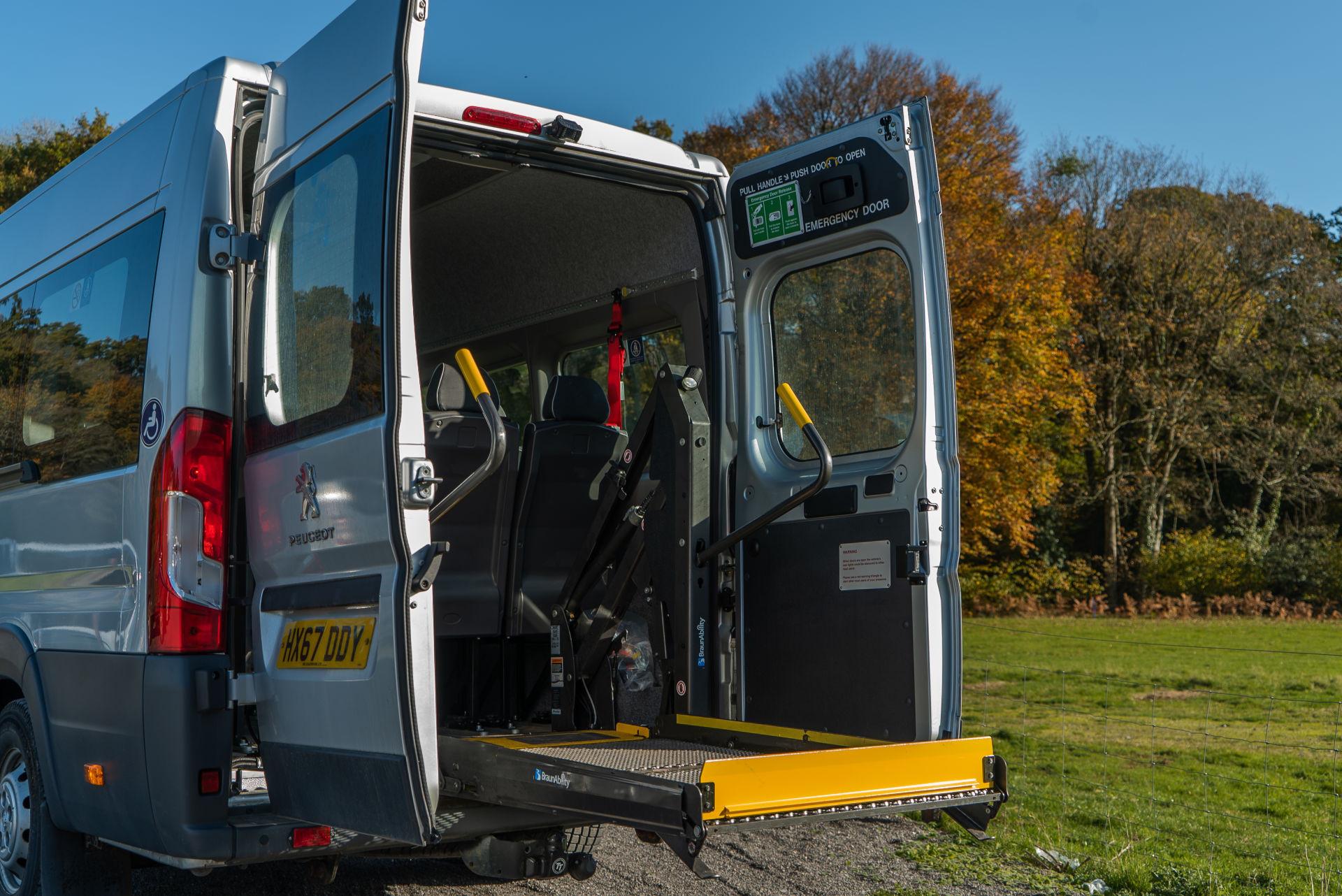 Peugeot Boxer 17 Seater Accessible Minibus for Sale - Image 5