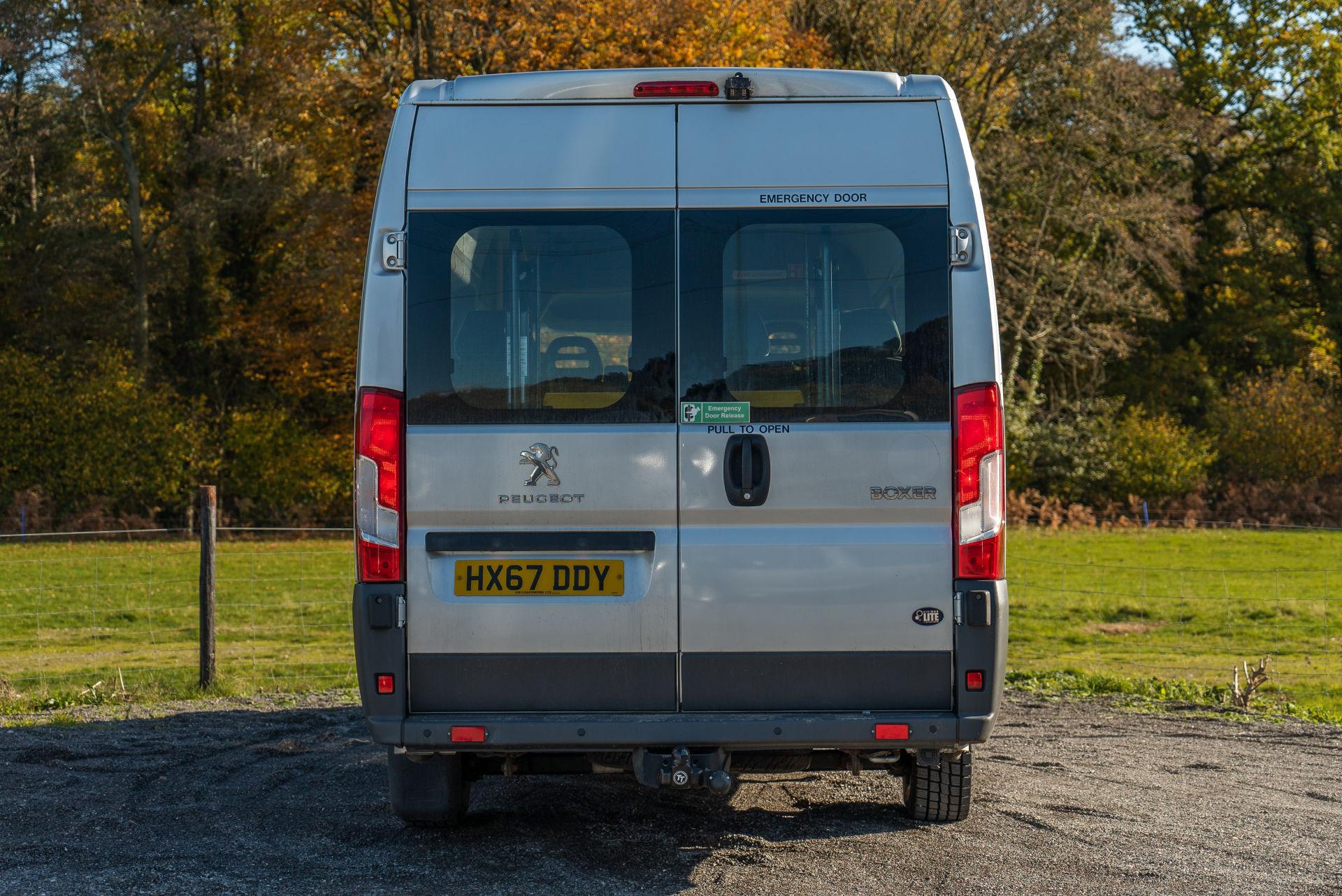 Peugeot Boxer 17 Seater Accessible Minibus for Sale - Image 8