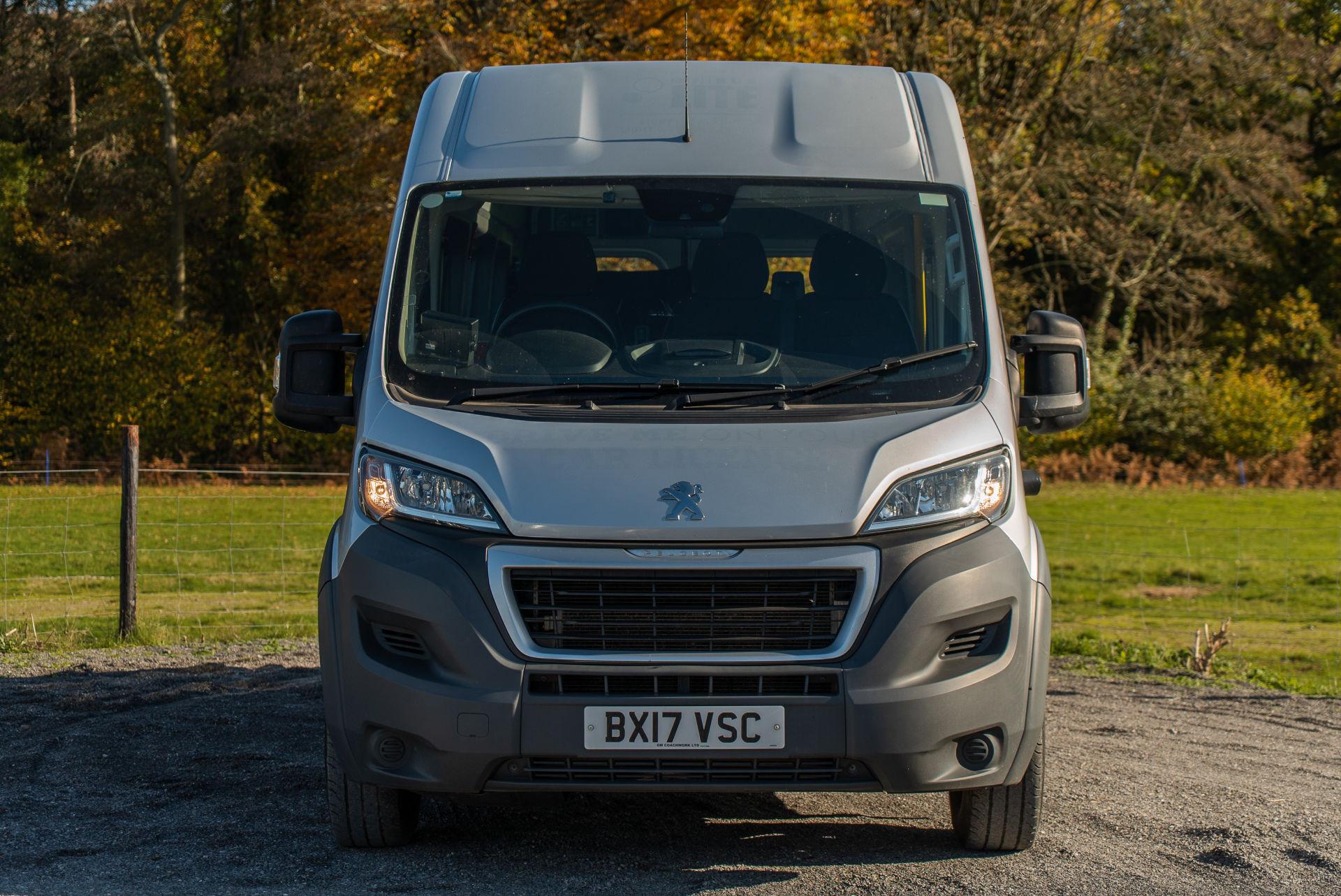 2017 Peugeot Boxer 17 Seater Accessible Minibus for Sale - Image 1
