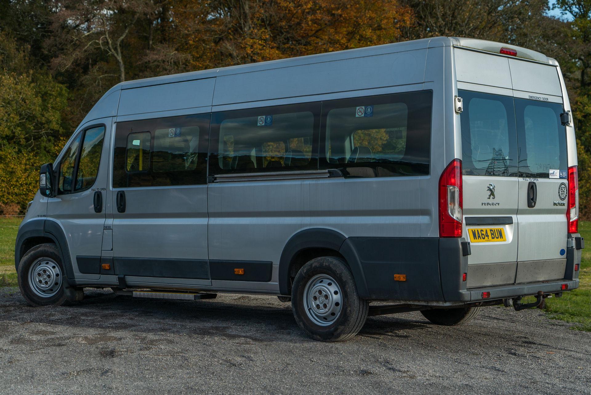 2015 Peugeot Boxer 17 Seater Accessible Minibus for Sale - Image 4